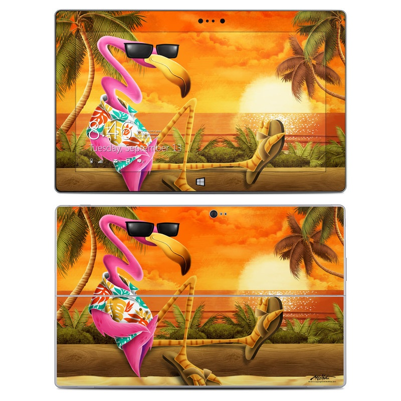 Microsoft Surface 2 RT Skin design of Cartoon, Art, Animation, Illustration, Plant, Cg artwork, Shoe, Fictional character with red, orange, green, black, pink colors