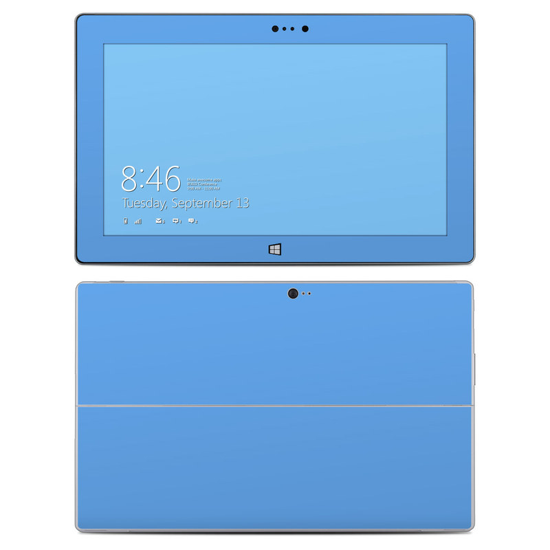 Solid State Blue Microsoft Surface 2 Skin