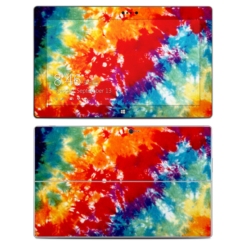 Tie Dyed Microsoft Surface 2 Skin