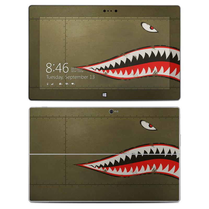 USAF Shark Microsoft Surface 2 Skin