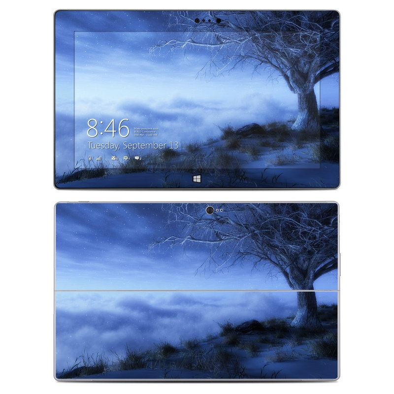 World's Edge Winter Microsoft Surface 2 Skin