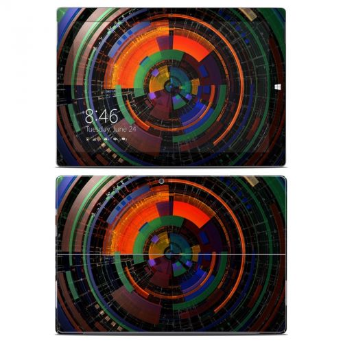 Color Wheel Microsoft Surface 3 Skin