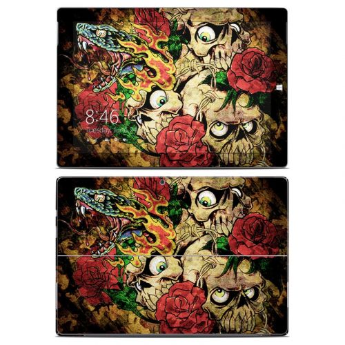 Gothic Tattoo Microsoft Surface 3 Skin