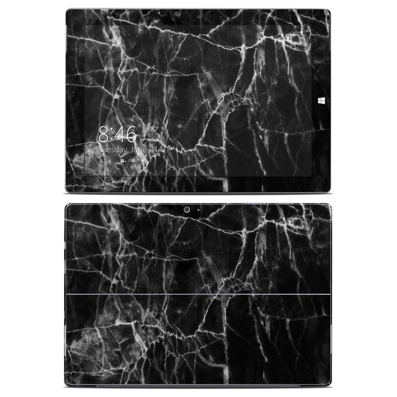 Black Marble Microsoft Surface 3 Skin