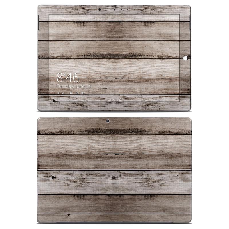 Barn Wood Microsoft Surface 3 Skin