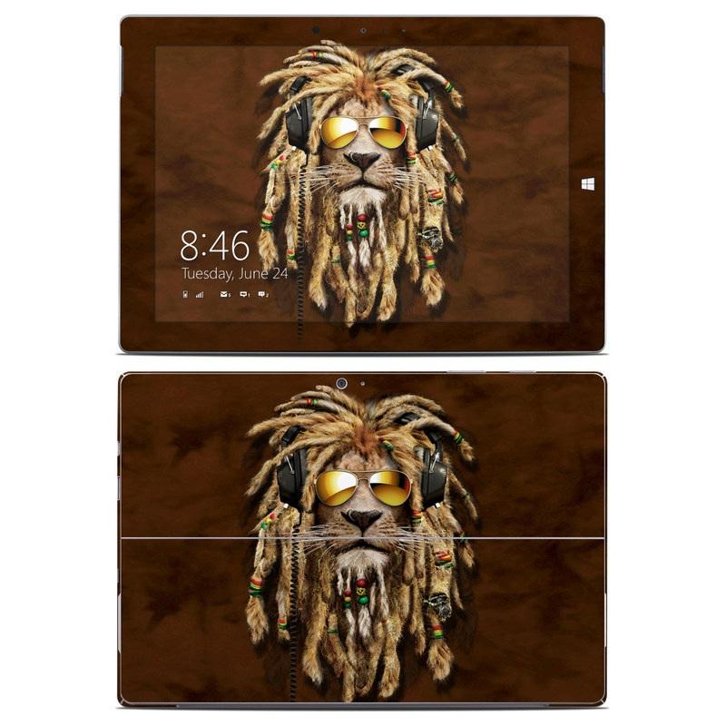 DJ Jahman Microsoft Surface 3 Skin