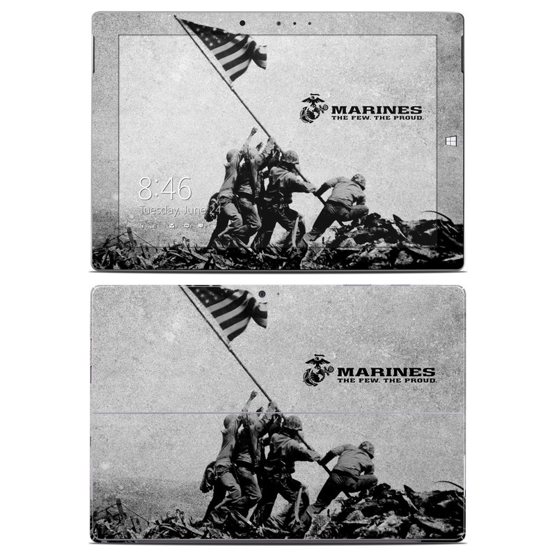 Flag Raise Microsoft Surface 3 Skin