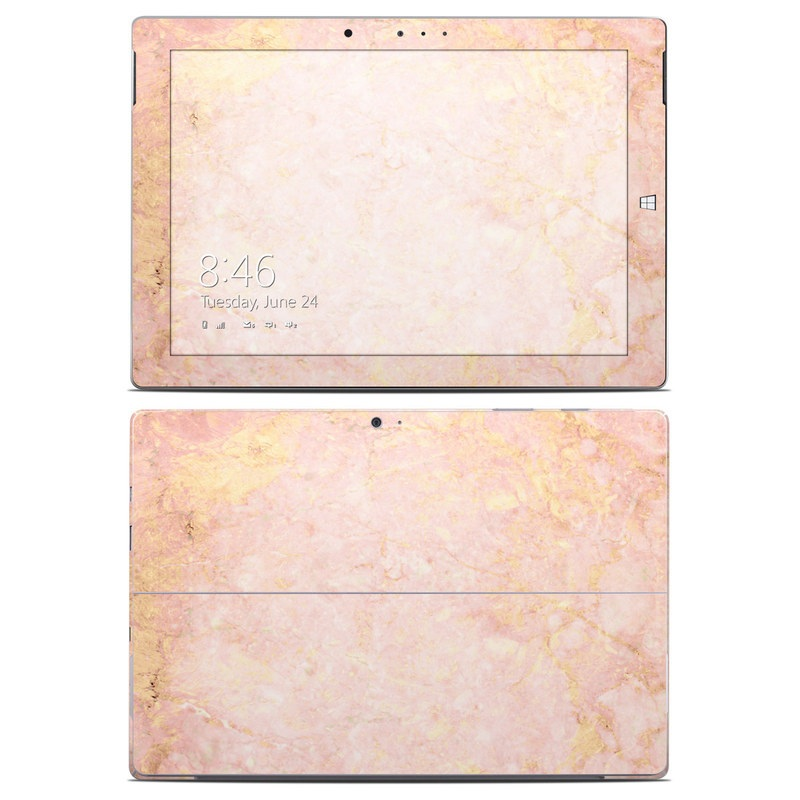 Rose Gold Marble Microsoft Surface 3 Skin