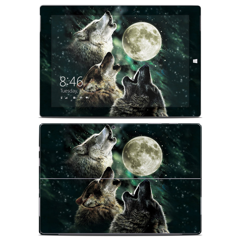 Three Wolf Moon Microsoft Surface 3 Skin