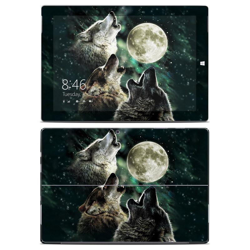 Three Wolf Moon Microsoft Surface 3 Skin
