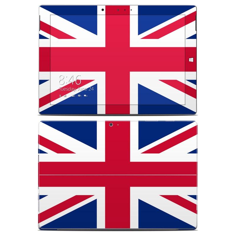 Union Jack Microsoft Surface 3 Skin