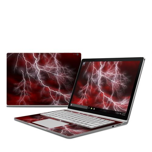 Apocalypse Red Microsoft Surface Book Skin