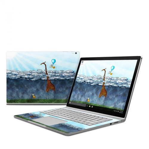 Above The Clouds Microsoft Surface Book Skin