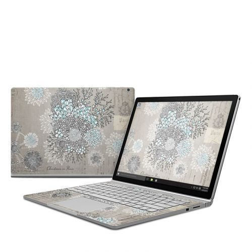 Christmas In Paris Microsoft Surface Book Skin