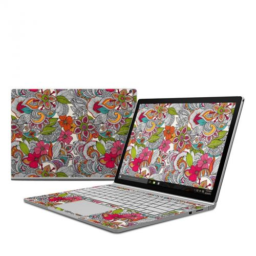 Doodles Color Microsoft Surface Book Skin