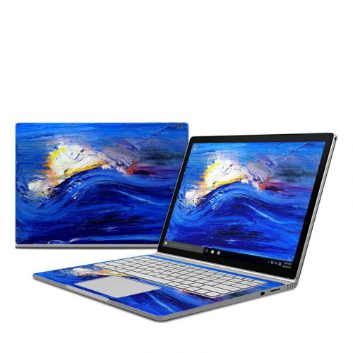 Feeling Blue Microsoft Surface Book Skin