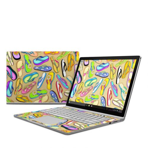 Flip Flops Microsoft Surface Book Skin