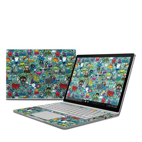 Jewel Thief Microsoft Surface Book 1 Skin