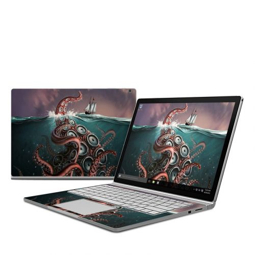 Kraken Microsoft Surface Book 1 Skin