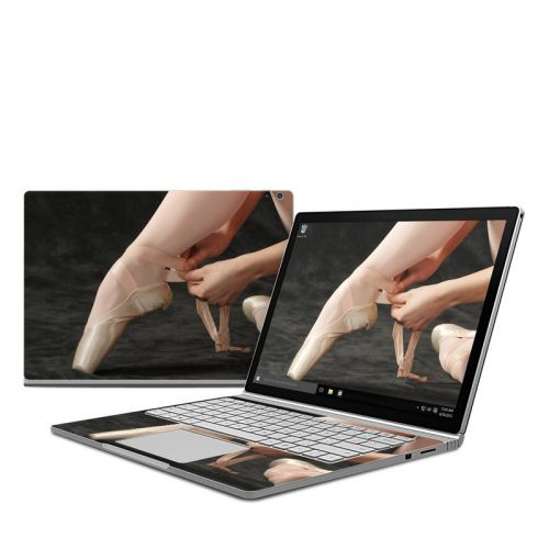 On Pointe Microsoft Surface Book Skin