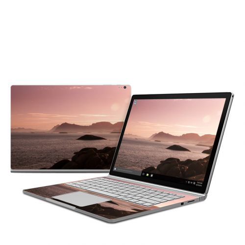 Pink Sea Microsoft Surface Book Skin