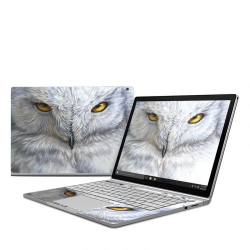 Snowy Owl Microsoft Surface Book Skin