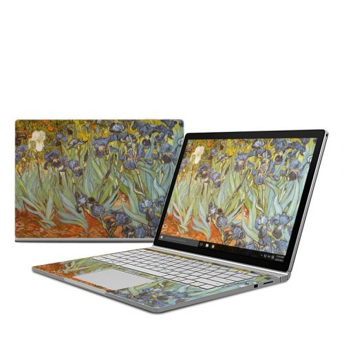 Irises Microsoft Surface Book Skin