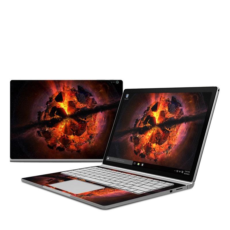 Aftermath Microsoft Surface Book 1 Skin