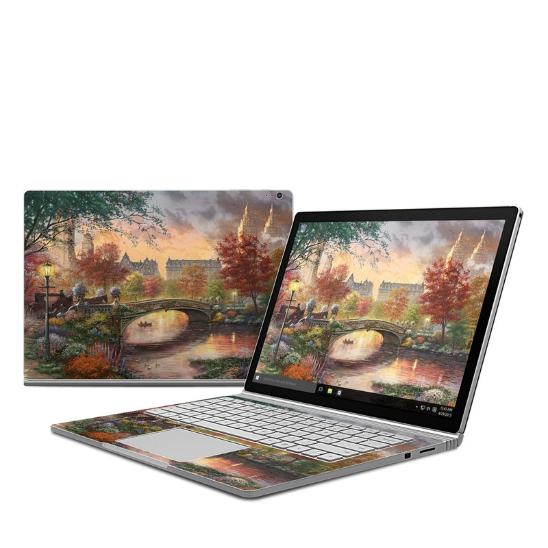 Autumn in New York Microsoft Surface Book Skin