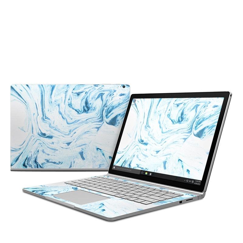 Azul Marble Microsoft Surface Book 1 Skin