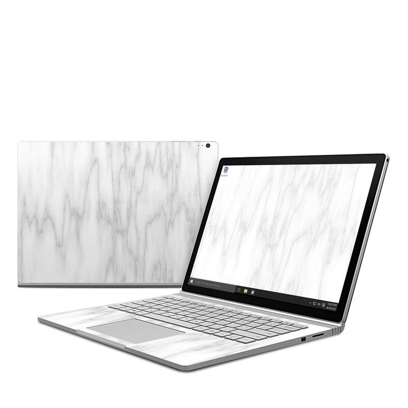 Bianco Marble Microsoft Surface Book Skin