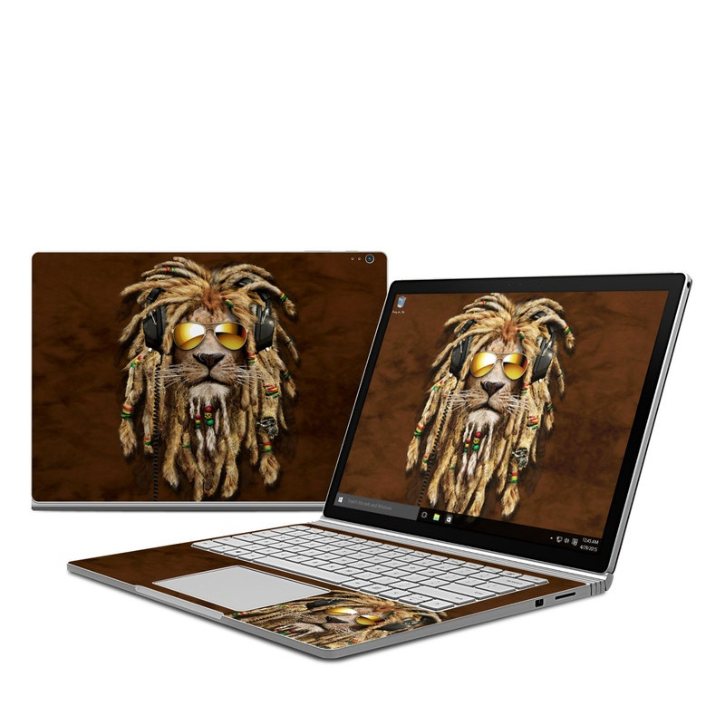 DJ Jahman Microsoft Surface Book Skin
