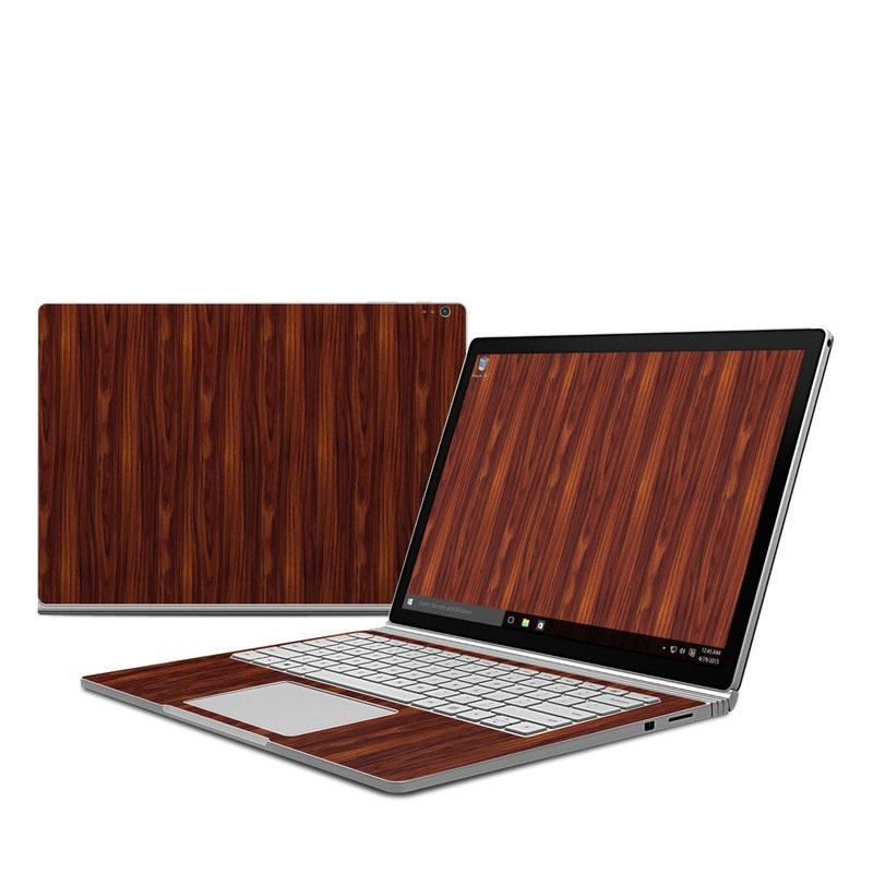 Dark Rosewood Microsoft Surface Book Skin