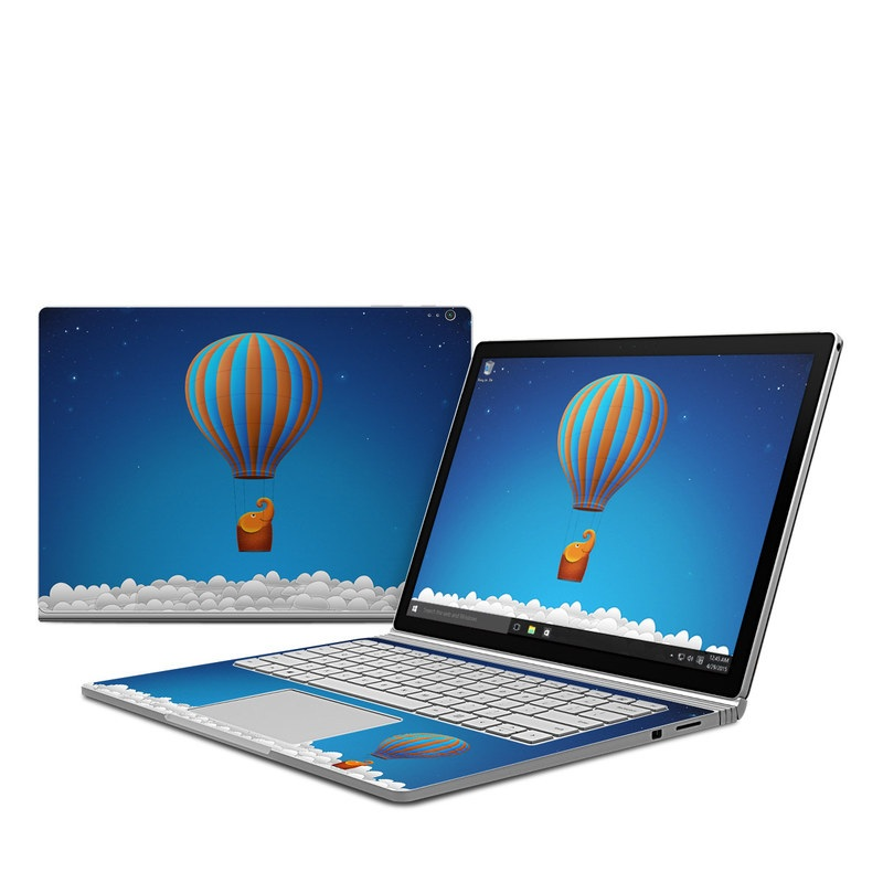 Flying Elephant Microsoft Surface Book Skin