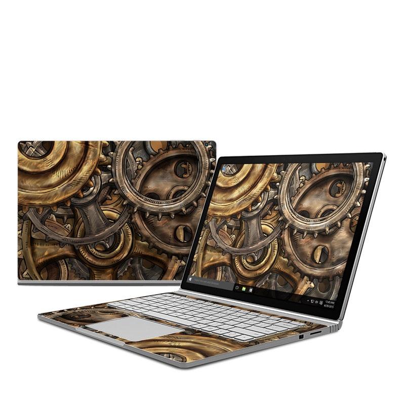 Gears Microsoft Surface Book Skin