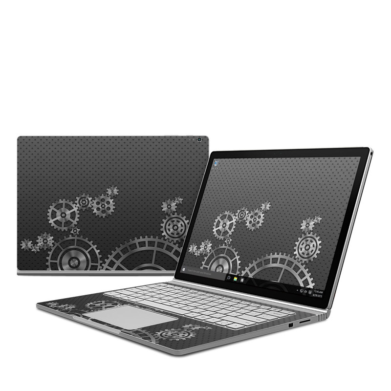 Gear Wheel Microsoft Surface Book Skin