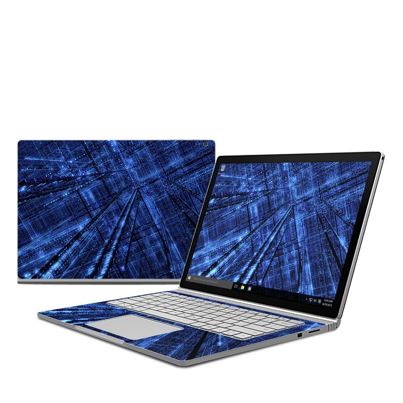 Grid Microsoft Surface Book Skin