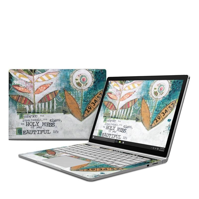 Holy Mess Microsoft Surface Book Skin