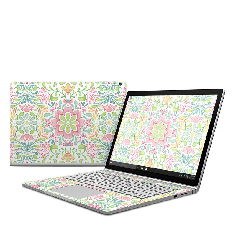 Honeysuckle Microsoft Surface Book Skin