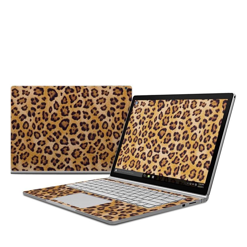 Leopard Spots Microsoft Surface Book Skin
