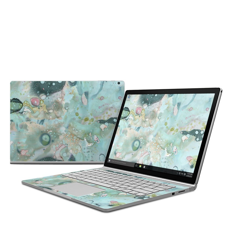 Organic In Blue Microsoft Surface Book 1 Skin