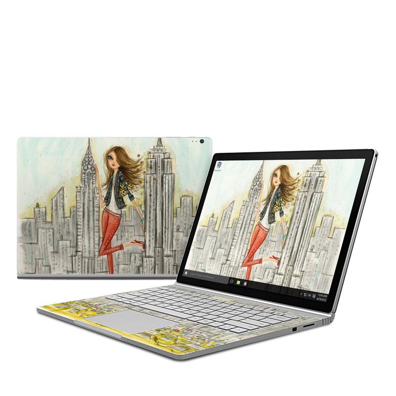 The Sights New York Microsoft Surface Book 1 Skin