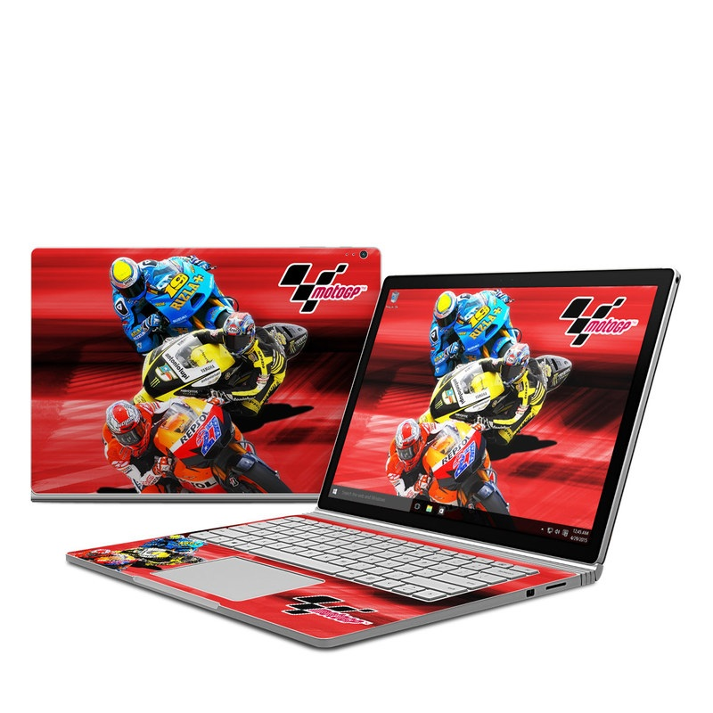 Speed Collage Microsoft Surface Book Skin