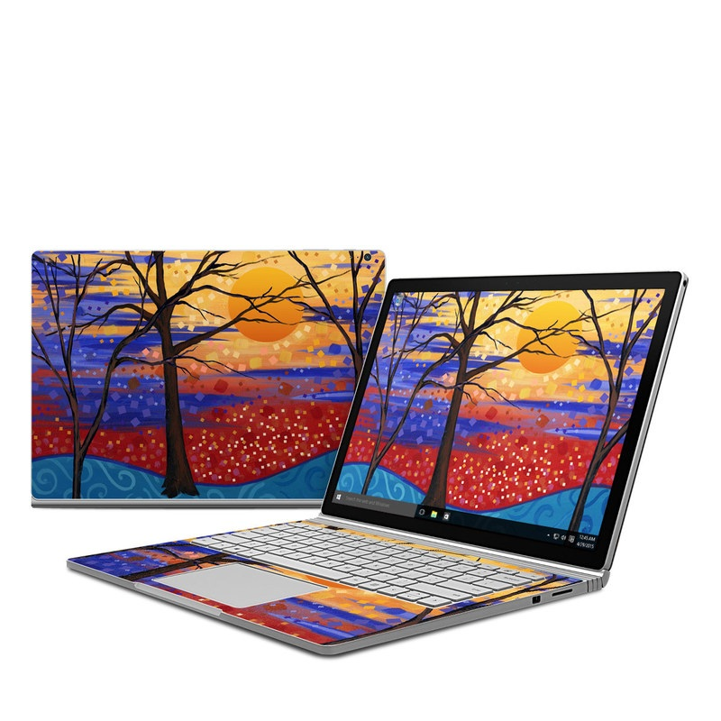 Sunset Moon Microsoft Surface Book 1 Skin