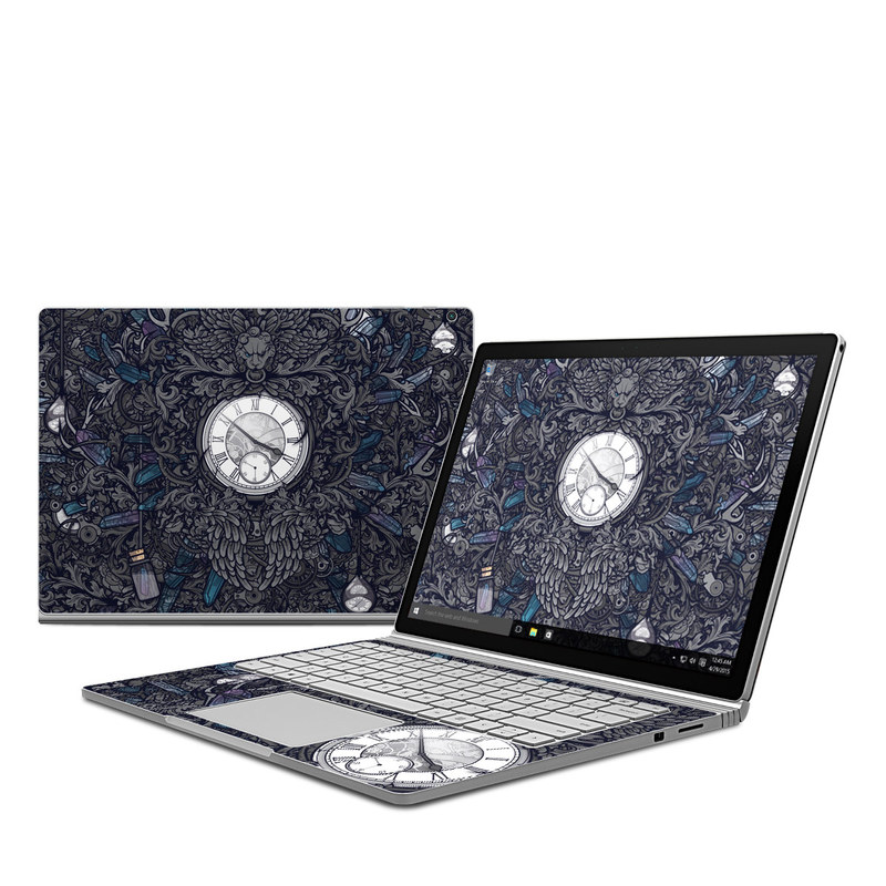 Time Travel Microsoft Surface Book Skin
