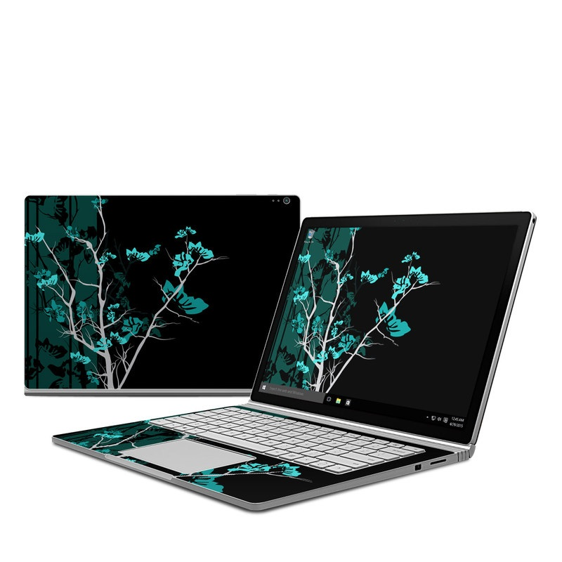 Aqua Tranquility Microsoft Surface Book Skin