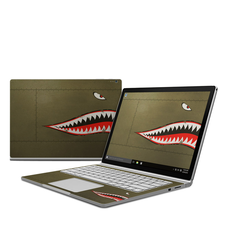 USAF Shark Microsoft Surface Book Skin