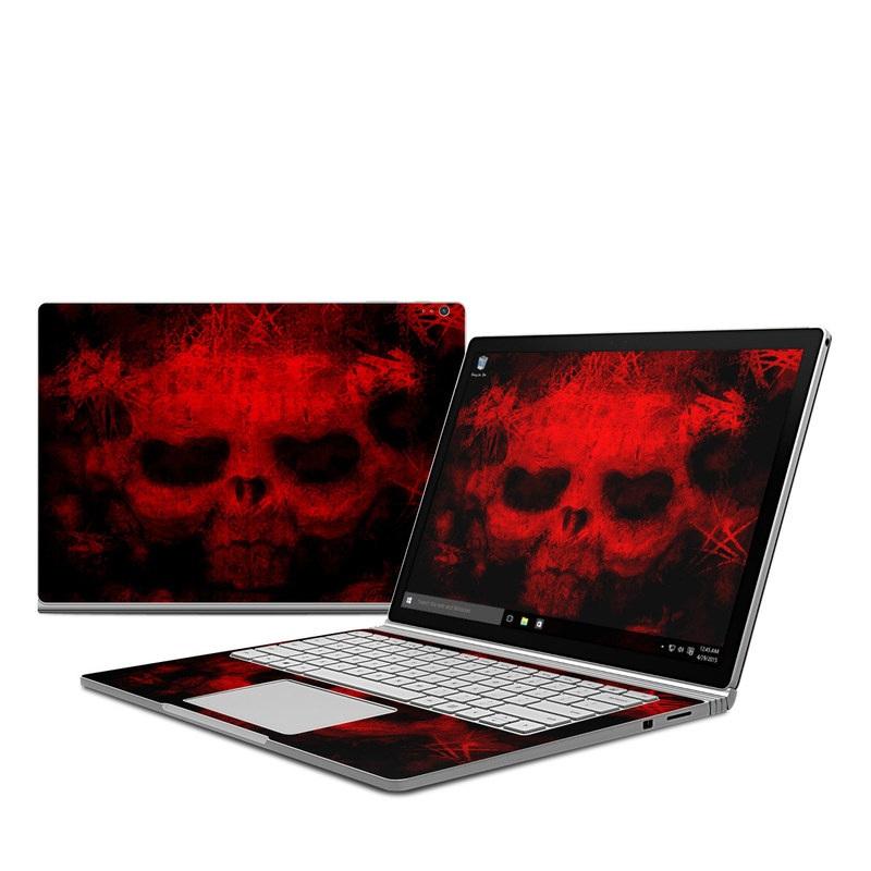 War Microsoft Surface Book Skin
