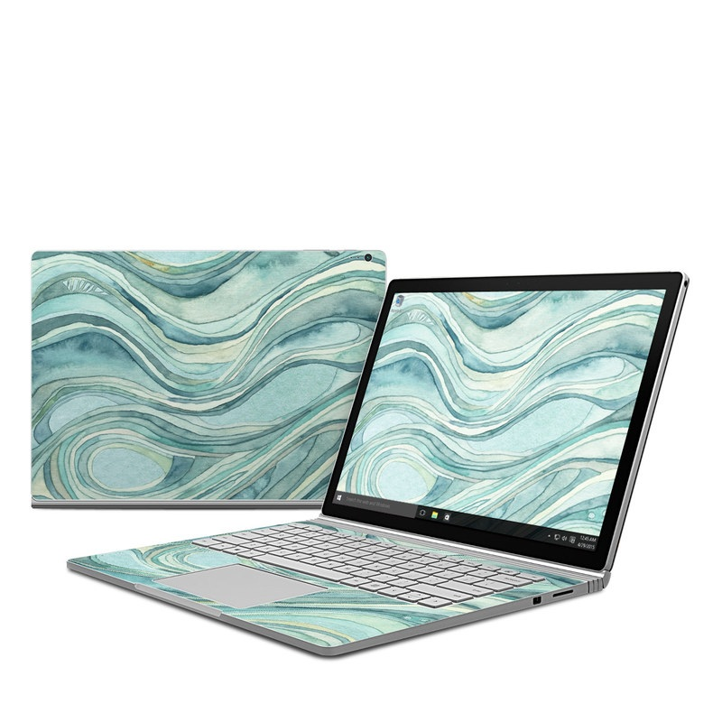 Waves Microsoft Surface Book Skin