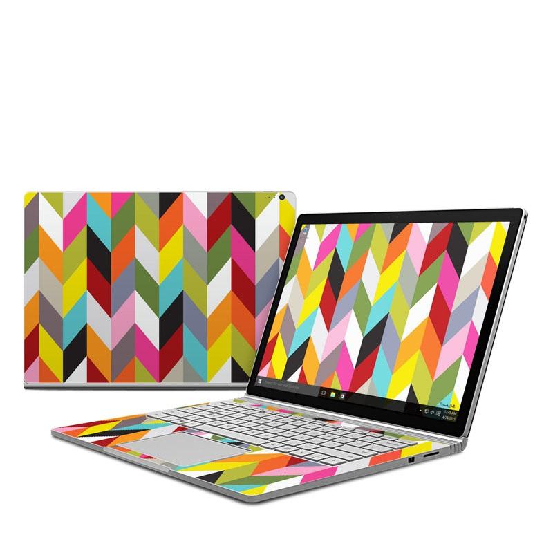Ziggy Condensed Microsoft Surface Book Skin
